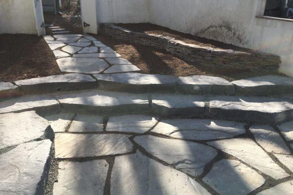Flag Stone Steps & Walkway